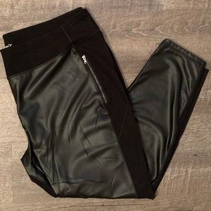 Faux Leather Leggings from Old Navy